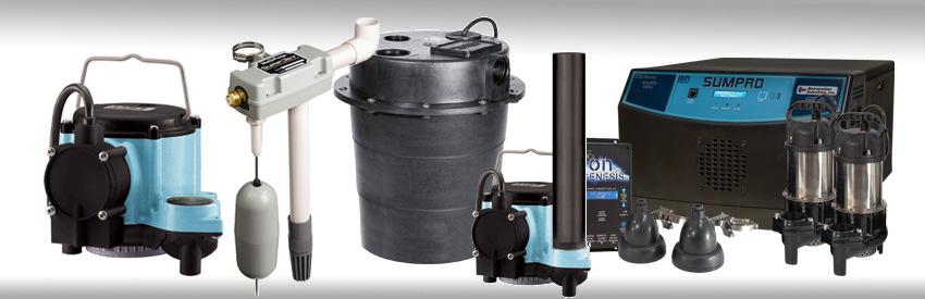 installation de pompe de puisard de coût